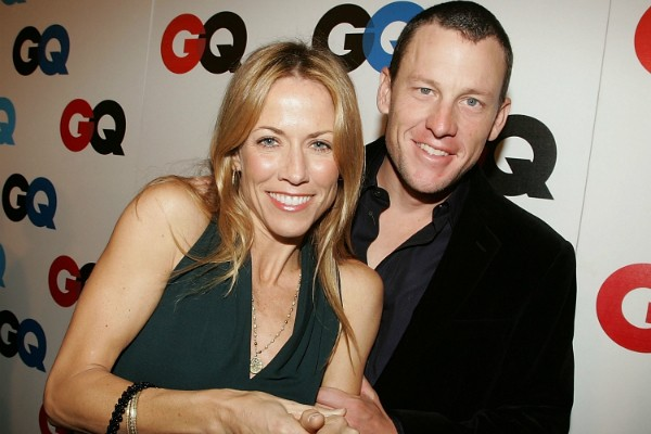 Sheryl Crow e Lance Armstrong (Foto: Getty Images)