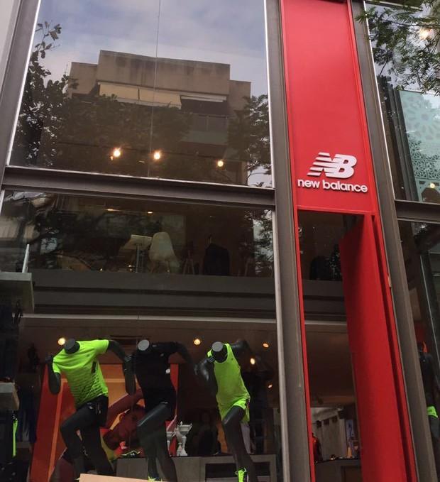 A pop-up store da New Balance no Rio de Janeiro (Foto: Divulgação)