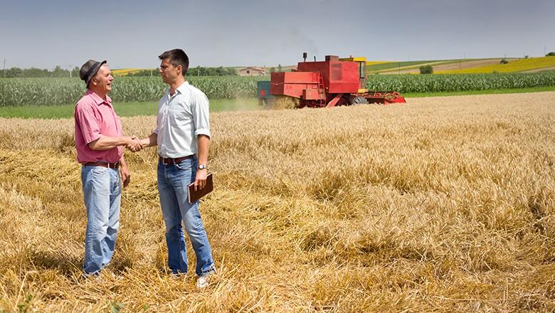 O agricultor deve considerar recorrer a linhas de crédito na hora de vender sua safra (Foto: ThinkStock)