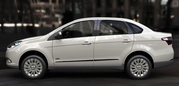 Blog Do Largartixa  Fiat Grand Siena Sublime Chega Por R  46 360