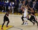 Blazers endurecem, mas Curry e Durant levam Warriors à nova vitória