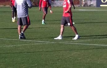 Nilmar e Geferson estão fora do jogo contra o Atlético-MG em BH
