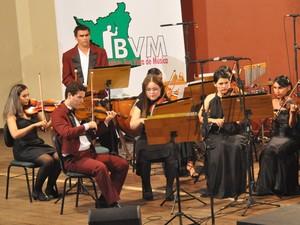 O Instituto de Música é uma organização social sem fins lucrativos responsável pelo ensino, pesquisa, desenvolvimento cultural e artístico da música (Foto: Divulgação/Prefeitura de Boa Vista)