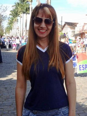 Rita de Cassia Fernandes de Sousa leciona há 23 anos (Foto: Arquivo pessoal/ Rita de Cassia Fernandes de Sousa)
