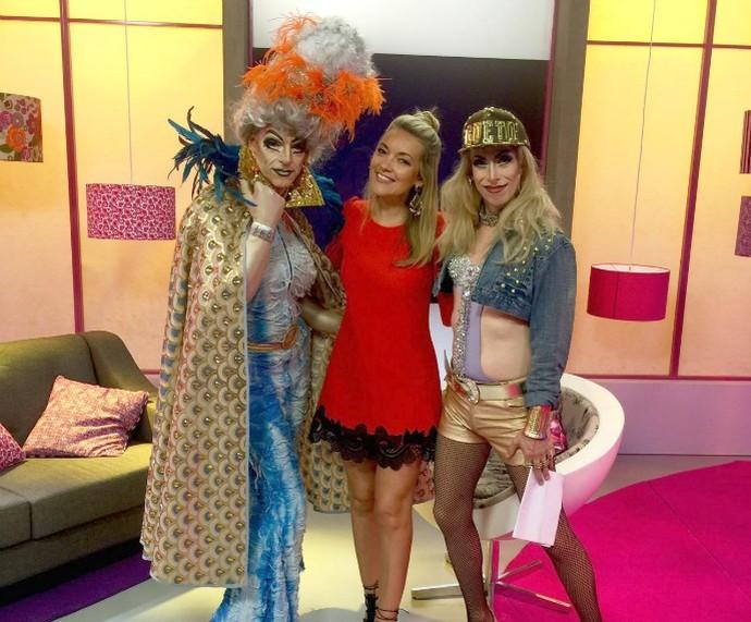 Tem Drag Queen no Funk Mistura com Rodaika (Foto: Divulgação/RBS TV)