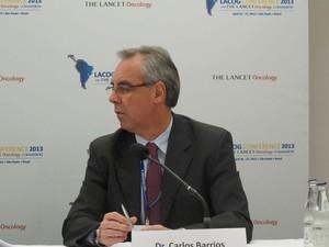 Carlos Barrios, professor da Faculdade de Medicina da PUC-RS (Foto: Tadeu Meniconi/G1)