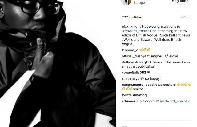 Nick Knight (Foto: Instagram/Reprodução)