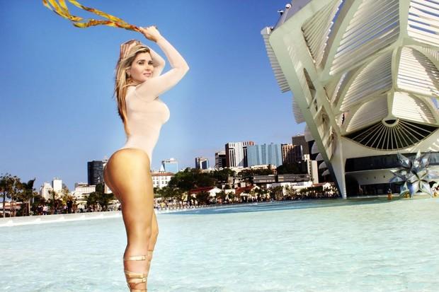 Grace Kelly, a Mulher Maçã (Foto: Guilherme Gomes/Gk Apple produções)