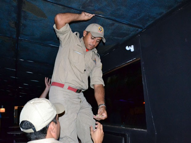 Bombeiros fiscalizaram 45 casas noturnas no período de uma semana no RN (Foto: Christiano Couceiro/Corpo de Bombeiros)