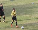 Roberto volta aos treinos e deve ficar à disposição para jogo contra o Vasco