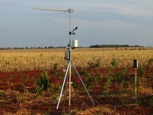 Estação meteorológica de Perdizes (Foto: Assessoria/Divulgação)