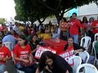 Servidores fazem vigília na ALMT para tentar impedir votação da RGA