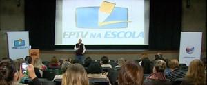 EPTV na Escola 2016 é lançado em São Carlos (Reprodução/ EPTV)