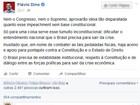 Flávio Dino critica processo de impeachment aberto contra Dilma