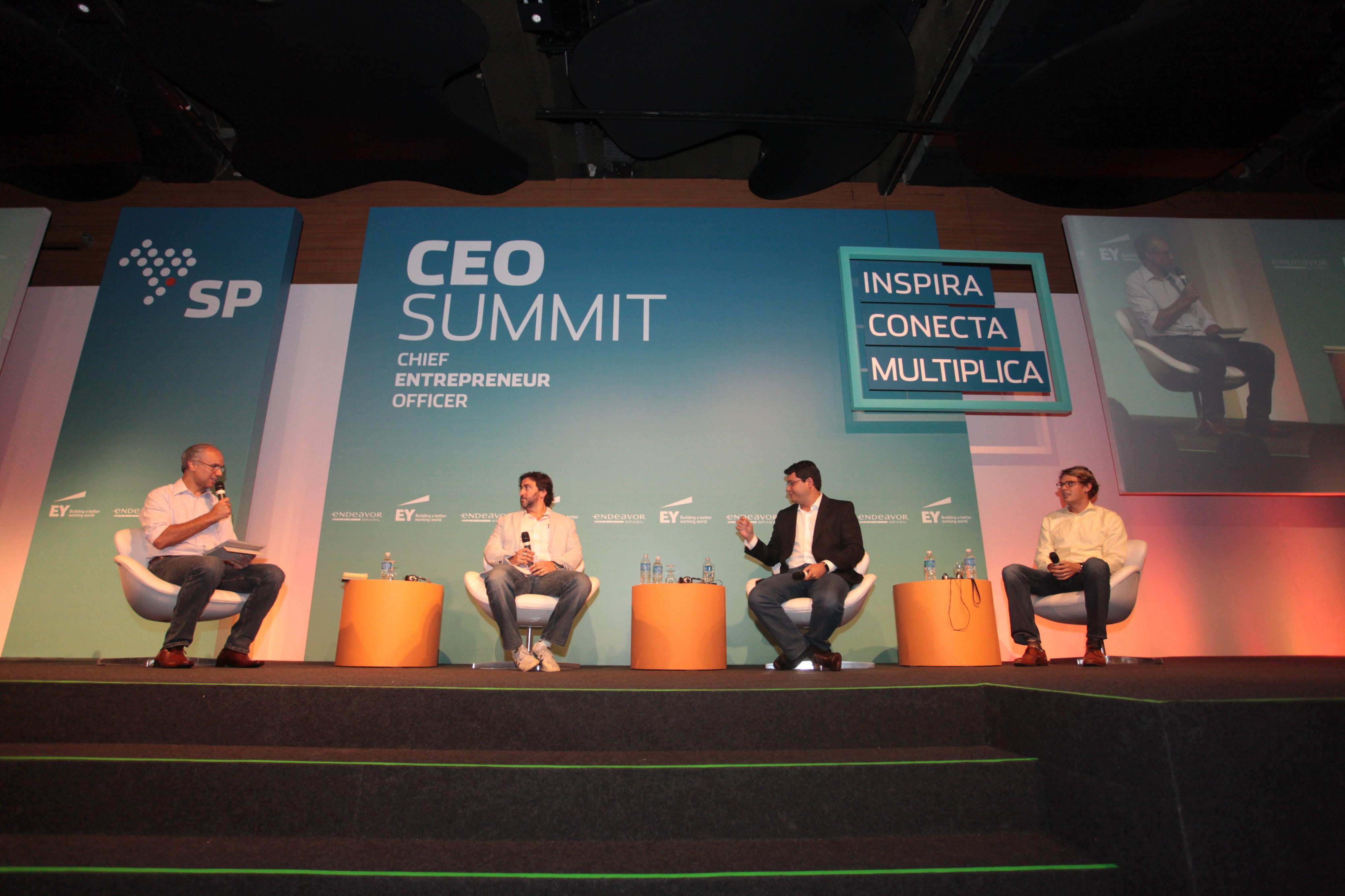 Edson Rigonatti, Leonardo Simão, Fabrício Bloisi e Tomasz Tunguz (Da esq. para dir.)  (Foto: Divulgação)