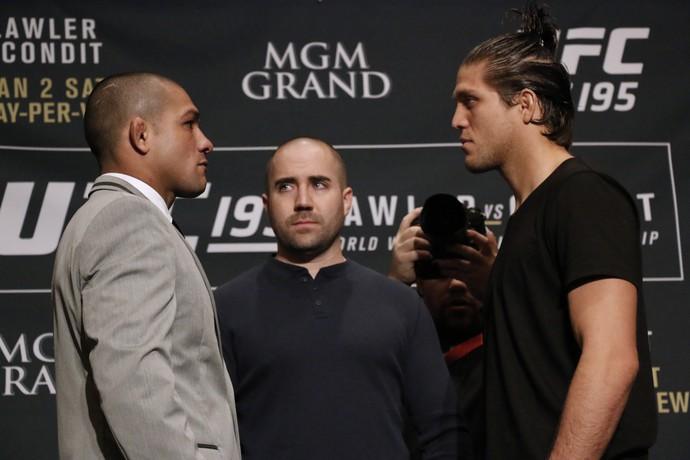 Diego Brandão x Brian Ortega; UFC 195 (Foto: Evelyn Rodrigues)