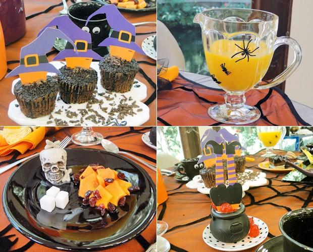 Populares Halloween! Confira uma decoração especial para o Dia das Bruxas  KA48