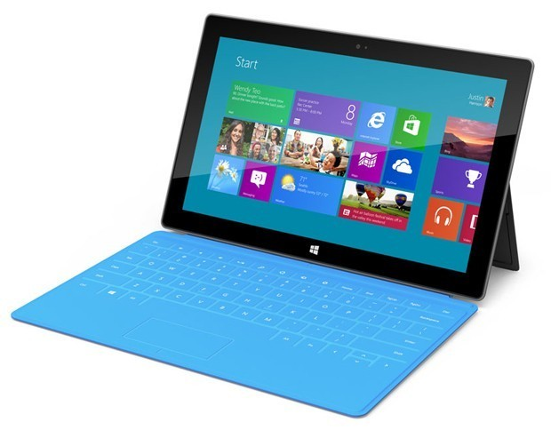 Tablet Surface da Microsoft (Foto: Divulga&#231;&#227;o)