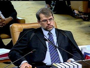 GNews - Ministro do Supremo Tribunal Federal - Dias Toffoli - 15/08/2013 (Foto: GloboNews)