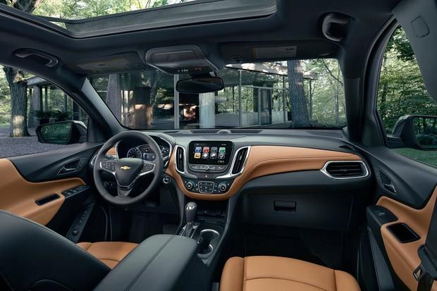 Chevrolet Equinox 2018 interior (Foto: Divulgação)