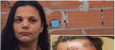 'Meu filho não é bicho', diz mãe de jovem tatuado na testa  (Reprodução)