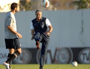 Tite treino Corinthians (Foto: Mauro Horita / Ag. Estado)