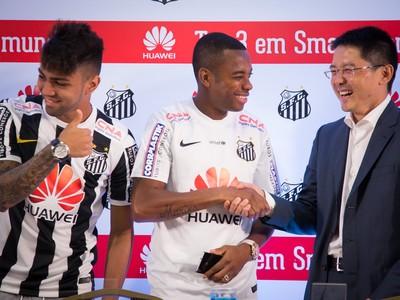 Santos patrocínio (Foto: Ricardo Saibun / Divulgação Santos FC)