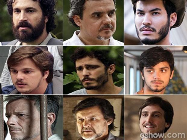 Barbas! Todos os estilos marcam presença em Além do Horizonte (Foto: Além do Horizonte / TV Globo)