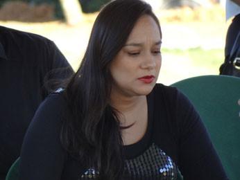 Liv Moraes diz que não houve desentendimento (Foto: Katherine Coutinho/G1)