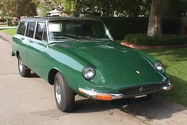 Primeiro Jerrari de 1969 tinha frente da Ferrari 365 (Foto: Reprodução)