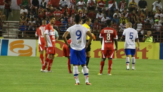 CRB X Fortaleza (Foto: Denison Roma / Globoesporte.com)