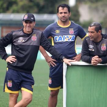 jorginho zinho treino vasco (Foto: Paulo Fernandes / Vasco.com.br)