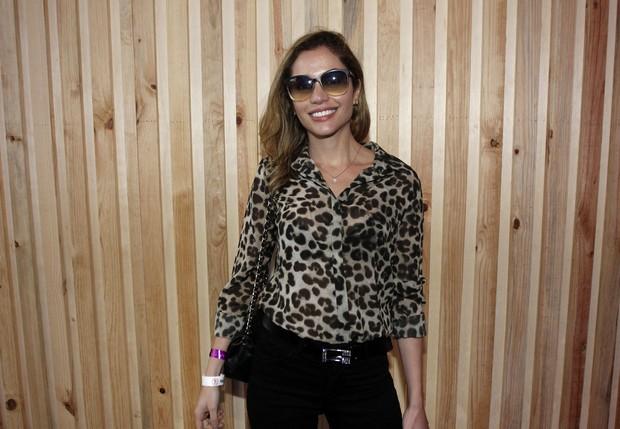 Maria Melilo no Lollapalooza (Foto: Celso Tavares/EGO)