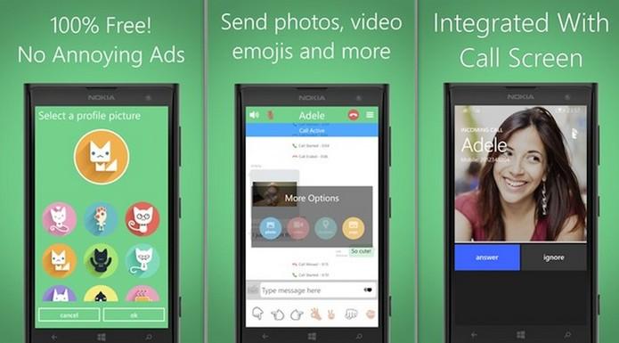 Talkray é um aplicativo para Windows Phone capaz de fazer ligações gratuitas (Foto: Divulgação/Windows Store)