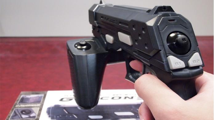 Modelos mais avançados da GunCon contavam até com analógicos (Foto: Reprodução/Wikipedia)
