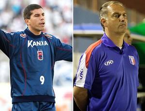 Ricardinho Paraná e Carlos Octávio Guaratinguetá (Foto: Editoria de Arte / Globoesporte.com)