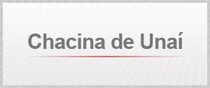 Selo Agenda Chacina de Unaí (Foto: Editoria de Arte/G1)