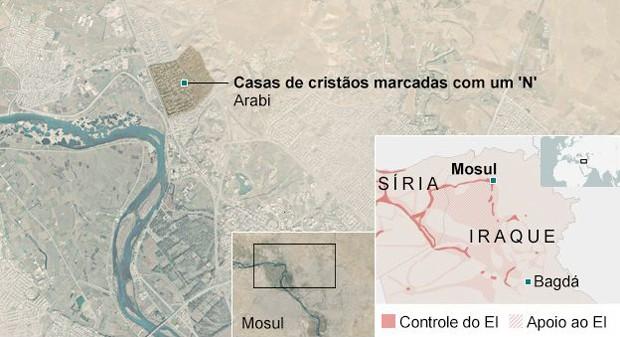 Estado Islâmico (Foto: BBC)