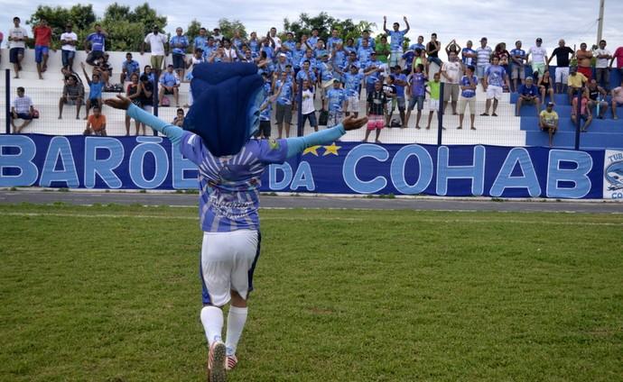Torcida Parnahyba (Foto: Didupaparazzo)