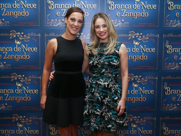 Adriana Birolli e Juliana Baroni em estreia de peça em São Paulo (Foto: Manuela Scarpa/ Brazil News)