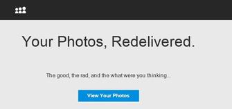 MySpace lançou ferramenta com fotos velhas (Foto: Reprodução/MySpace) (Foto: MySpace lançou ferramenta com fotos velhas (Foto: Reprodução/MySpace))