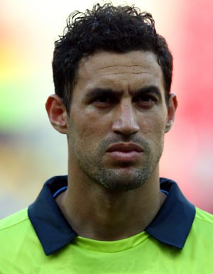 Martin Silva goleiro olimpia uruguai (Foto: Getty Images)