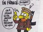 Última charge de cartunista francês morto citava possibilidade de atentado