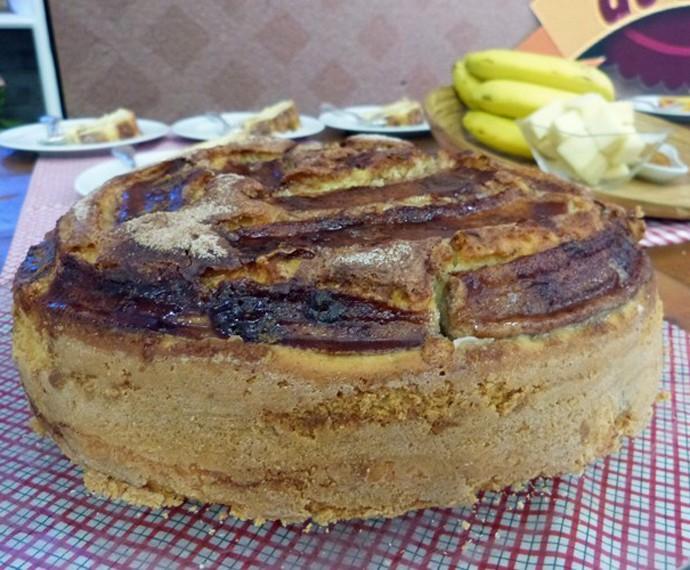 Bolo de Banana (Foto: Mais Você/Gshow)
