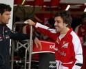 Alonso lidera treino livre atrapalhado por forte neblina e falta de helicóptero