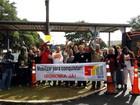 Ato pró direitos trabalhistas paralisa  Replan, Unicamp e serviços na região