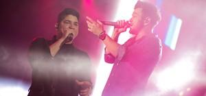 Henrique & Diego e Guilherme & Santiago (Mateus Rigola/G1)