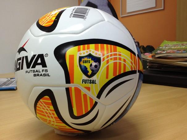 7a487a99d7 Participe do concurso cultural e concorra a uma bola de futsal oficial  (Foto  Divulgação