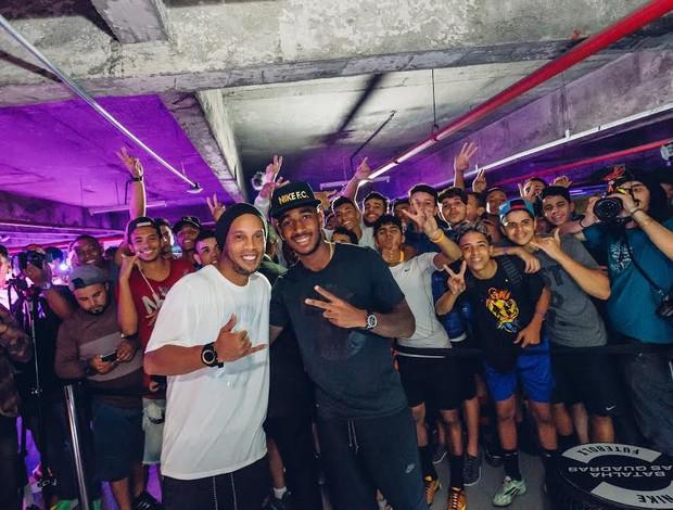 BLOG: Agendada lotada: após passagem pelos EUA, Ronaldinho vai a evento no Rio