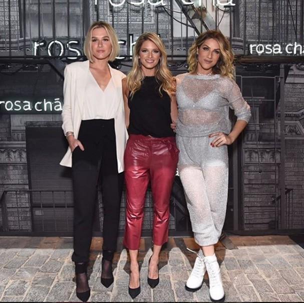 Fiorella Matheis, Helena Bordon e Giovanna Ewbank (Foto: Reprodução Instagram @rosacha)